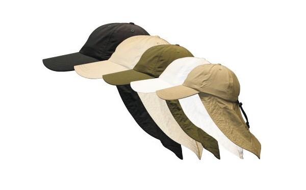 La saharienne avec cache nuque, une originale casquette pour femme, non ?