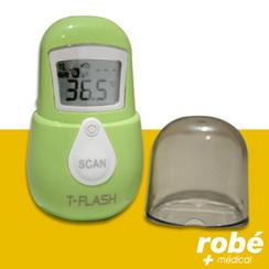 thermomètre frontal à infrarouge chez Robé Matériel Médical