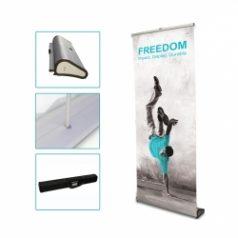 Rollup Corner : affiches publicitaires pratiques, d'un bon rapport qualité prix