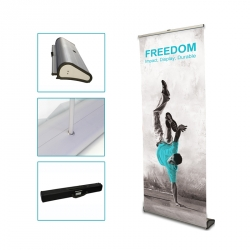 Roll up pour stand transportable
